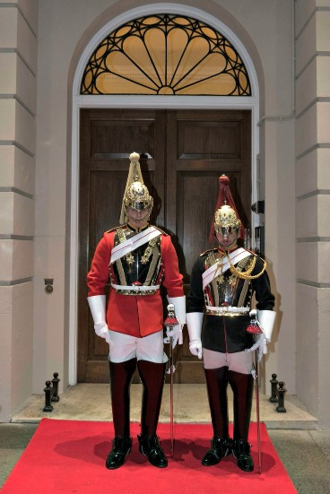 Household Cavalry at Kent House Knightsbridge