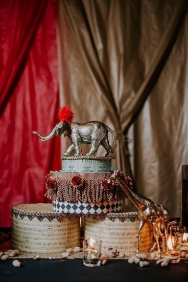 Circus Theme Christmas Party at Kent House Knightsbridge