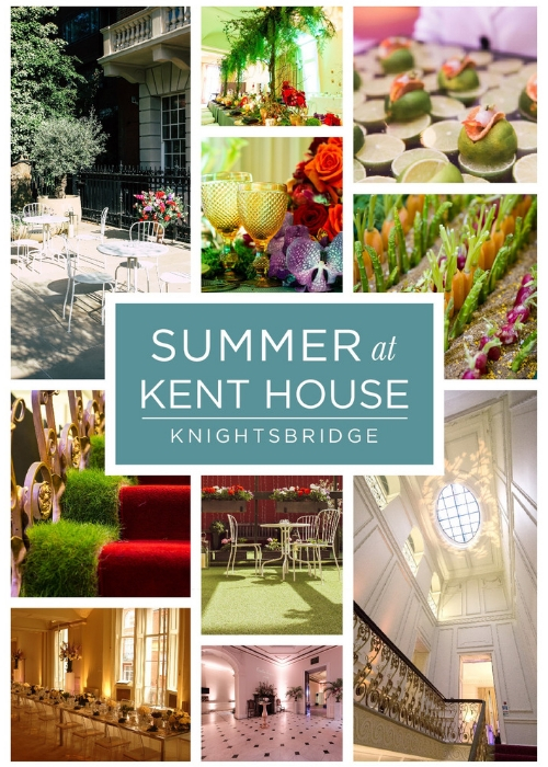 Summer Event Venue Kent House Knightsbridge