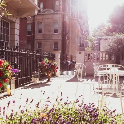 Summer party venue Kent House Knightsbridge