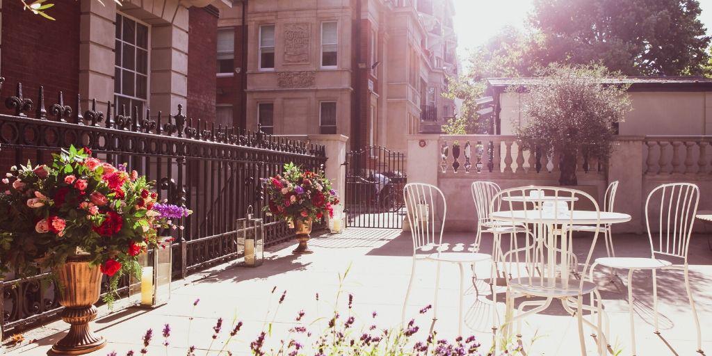 Summer parties at London venue Kent House Knightsbridge