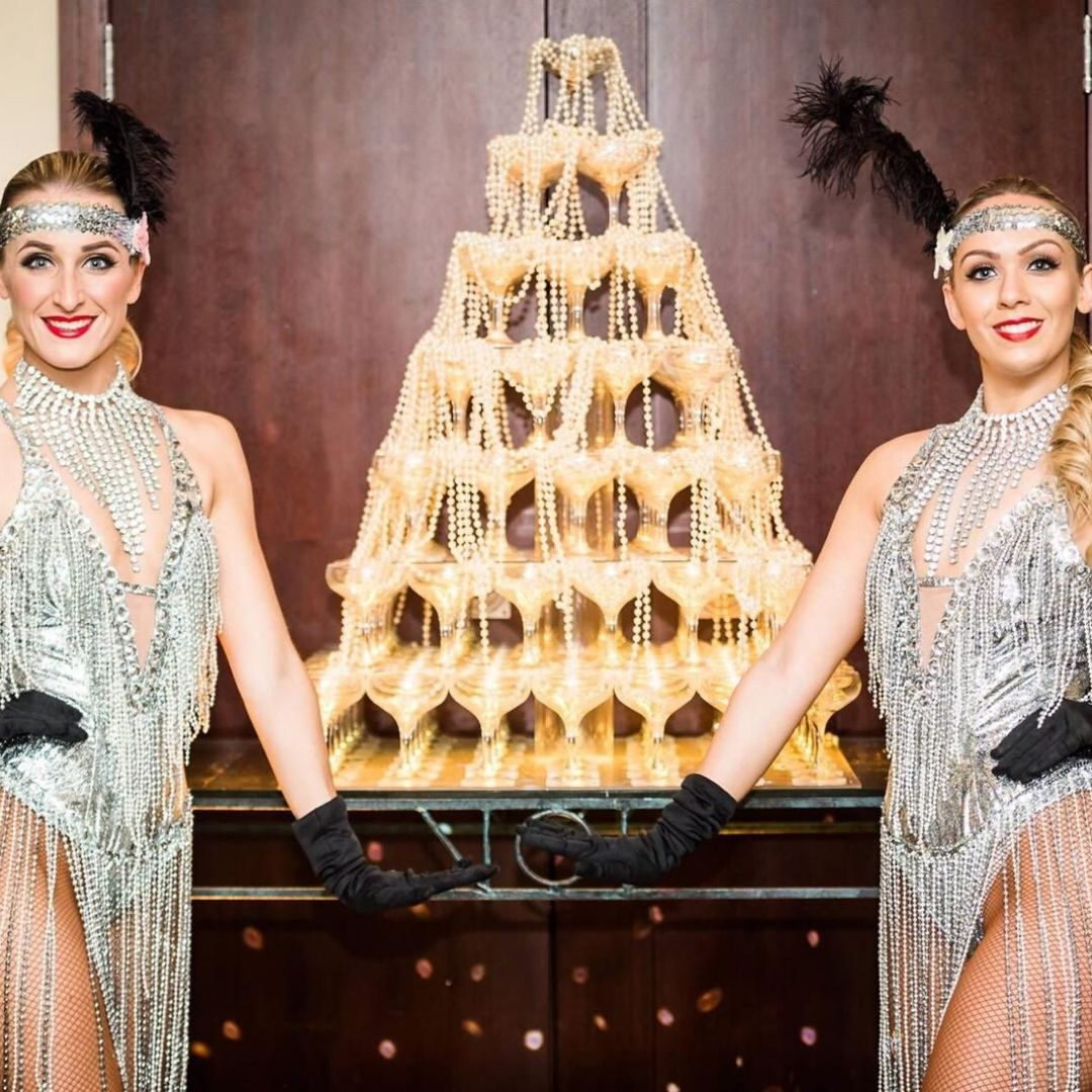 James Bond Themed Entertainment Showgirls
