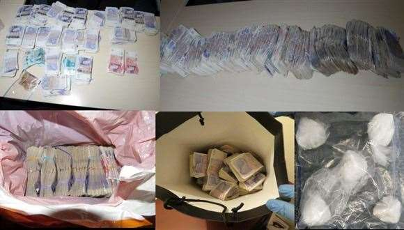More than 1 million pounds were reclaimed by the criminal group
