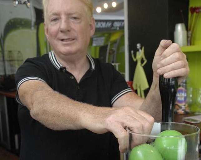 """Tony Butcher, Limes Lounge: """"Since I've been came to Kent, I've never been happier. I love it down here now, it's part of my life, it's where I should be and probably die down here."""""""