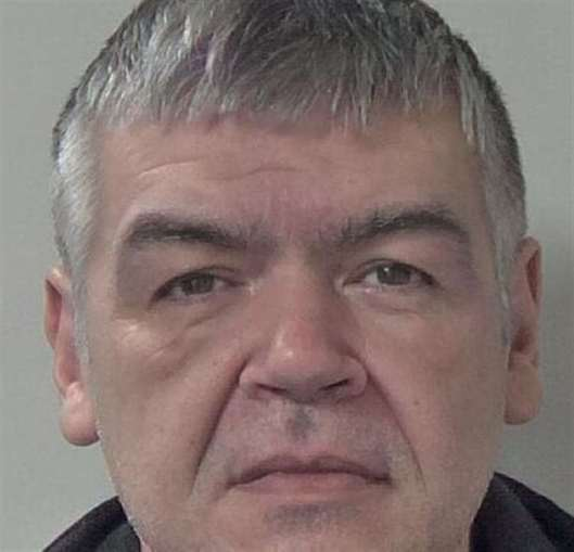 Christopher Ball has been jailed for eight years. Picture: Kent Police
