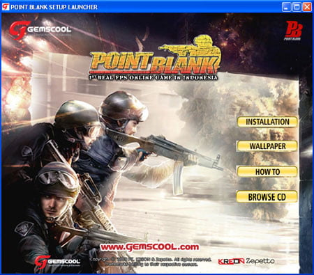 Cara Install dan Download Point Blank Online Gemscool