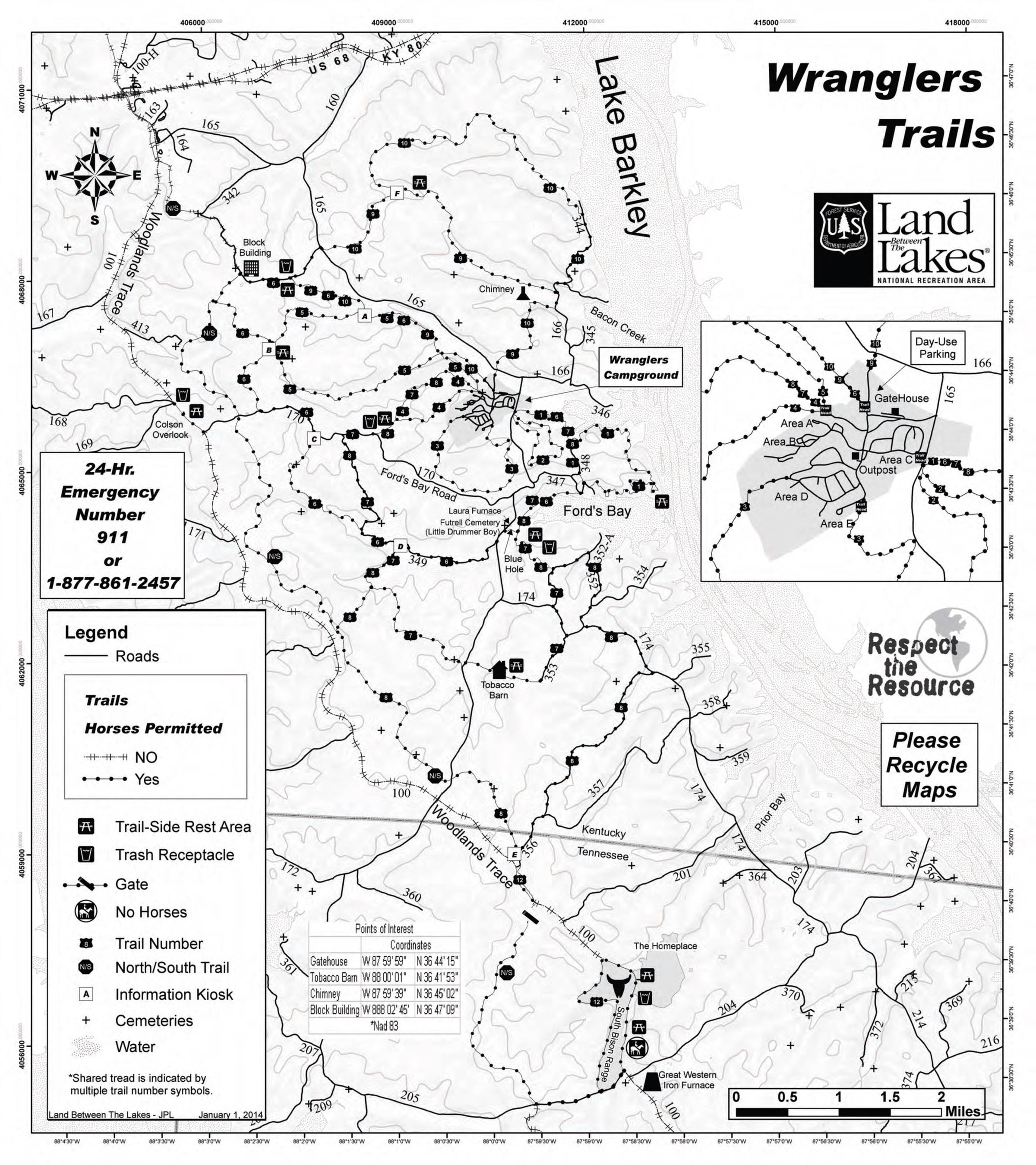 Kentucky Lake Area Maps