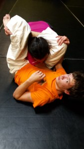 Jared Triangle Choke from Guard