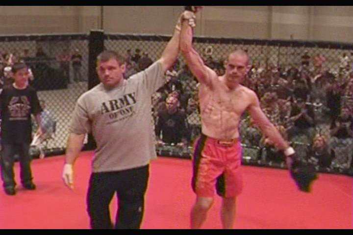 Jeremy Patton with Referee Matt Hughs 9/16/06