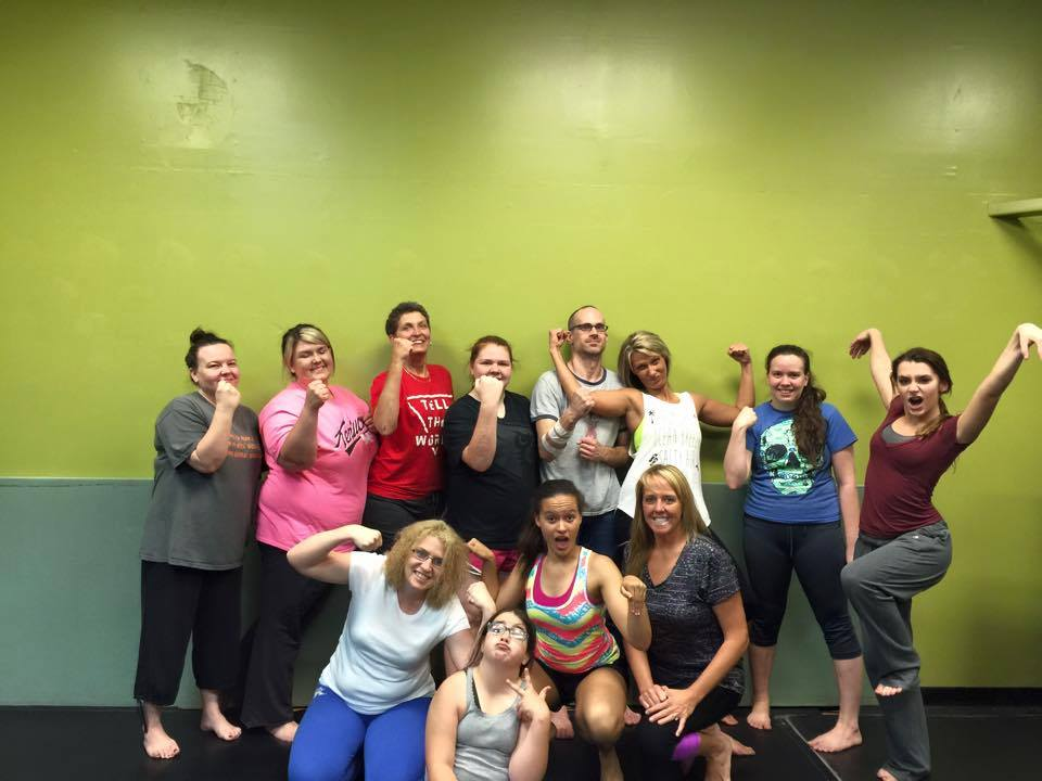 Women's Self-Defense Seminar Group Photo 5-23-15