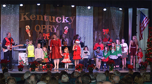 and sounds of the holiday season come alive each year when the kentucky opry presents its annual show a country christmas the show features a wide a - A Country Christmas
