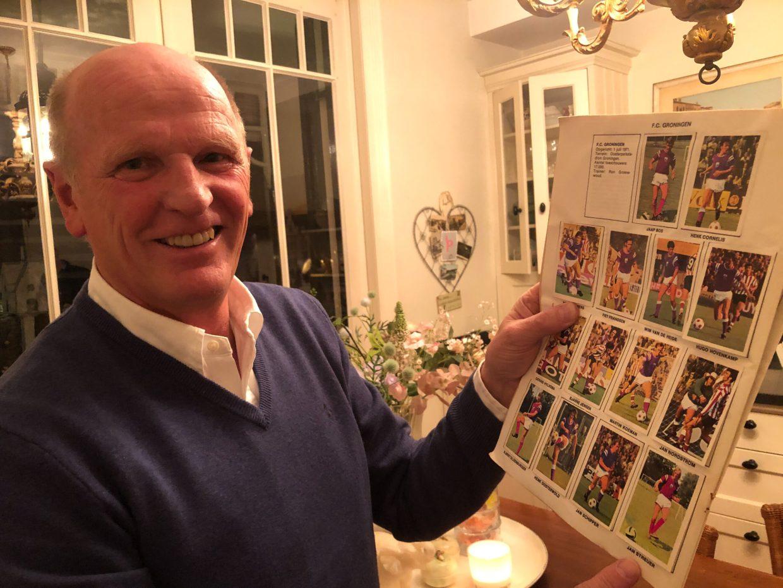 Jan Streuer als voetballer van FC Groningen