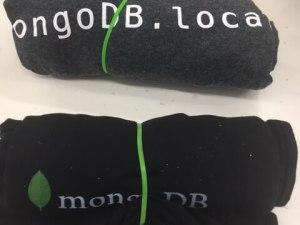 MongoDB.local San Francisco Swag T-Shirts