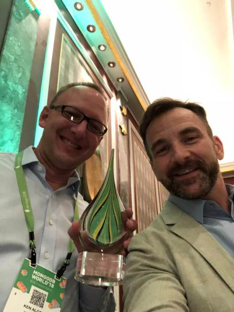 Zola Award at MongoDB World 2018
