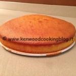 Ricetta torta all'arancia con Kenwood