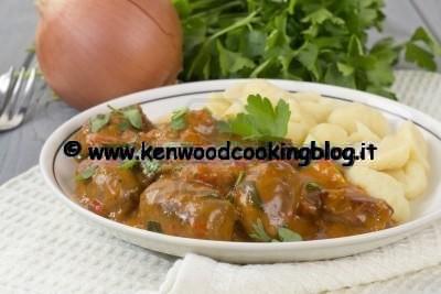 Ricetta Spezzatino di carne Kenwood