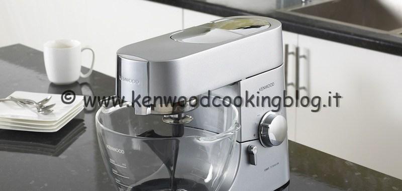 """In casa Kenwood arriva la nuova ciotola in vetro borosilicato AT550 per """"maître pâtissier"""" adatta a tutti i modelli Chef"""