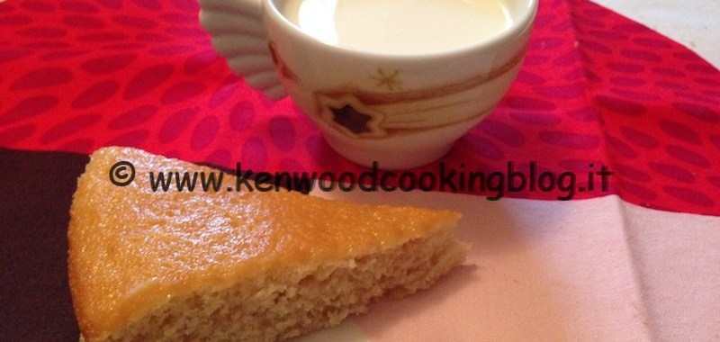 Ricetta Torta dietetica senza burro e uova Kenwood