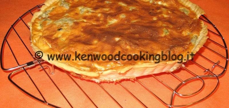 Ricetta Quiche ai carciofi Kenwood