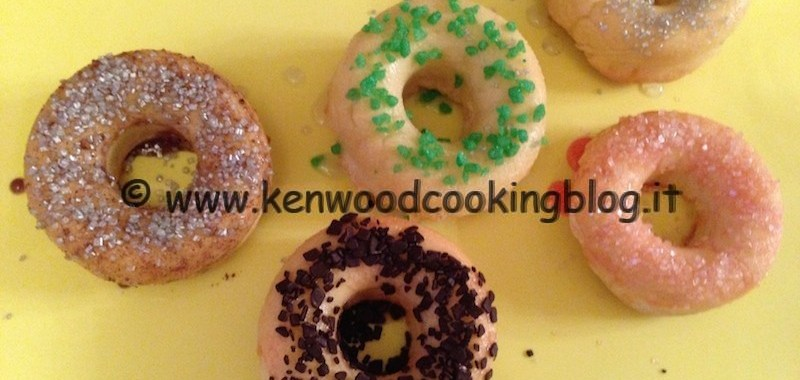 Ricetta Donuts al forno Kenwood