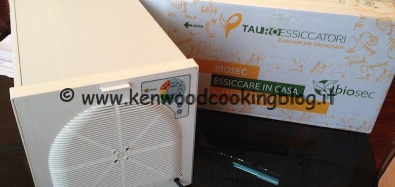 Essiccatore per conservare e risparmiare con Tauro Biosec e Kenwood