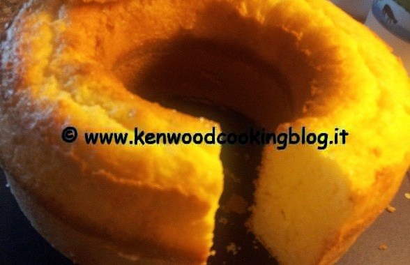 Ricetta ciambella vanigliata allo yogurt Kenwood