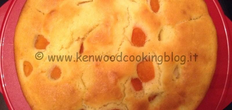 Ricetta torta soffice alle albicocche Kenwood