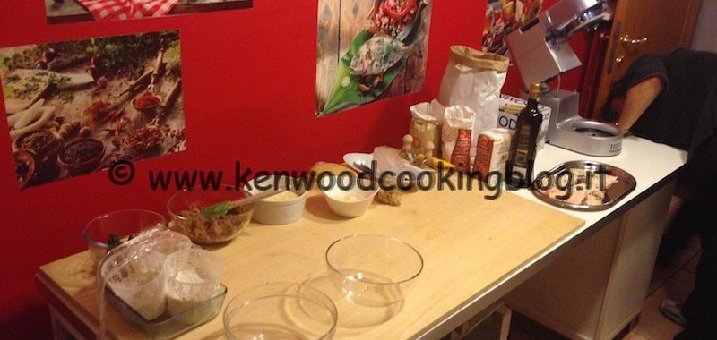 I segreti delle paste ripiene ai #corsikenwood con il Cooking Chef