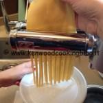 Ricetta tagliatelle all'uovo con tagliapasta AT971A Kenwood
