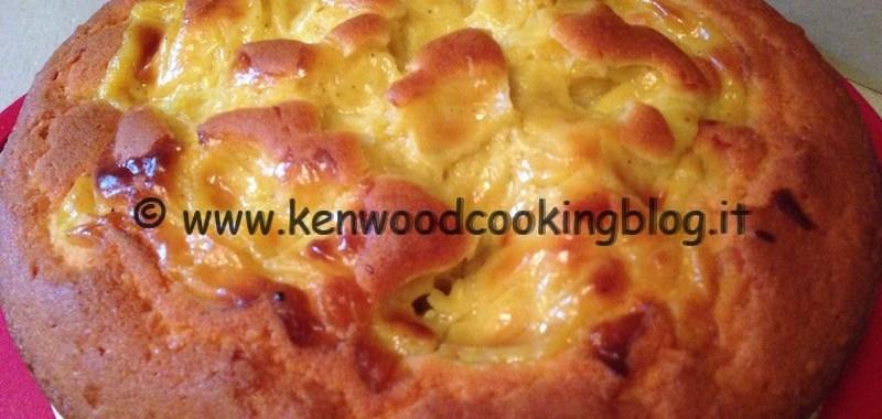 Ricetta torta con crema pasticciera nell'impasto Kenwood