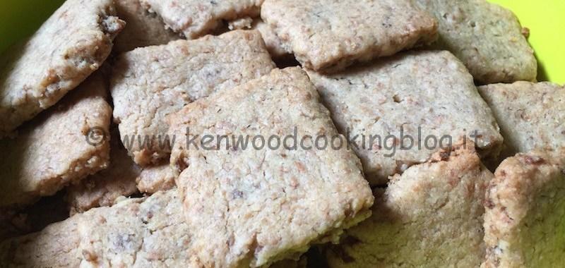 Ricetta biscotti corn flakes e farina integrale Kenwood