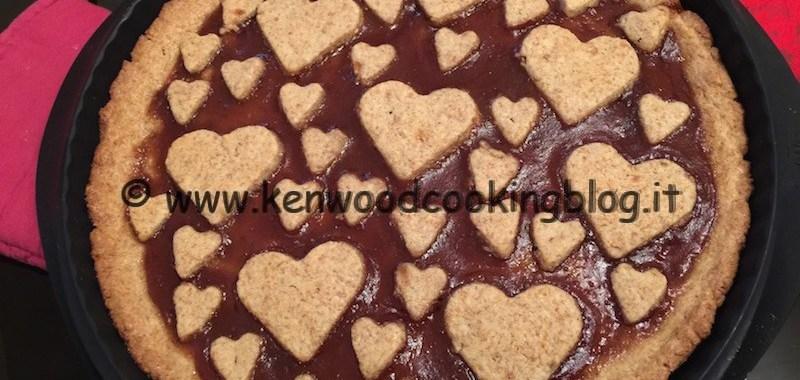 Ricetta pasta frolla integrale e crostata di fragole Kenwood