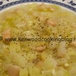 Ricetta zuppa di cavolo cappuccio con patate, fagioli e carote Kenwood