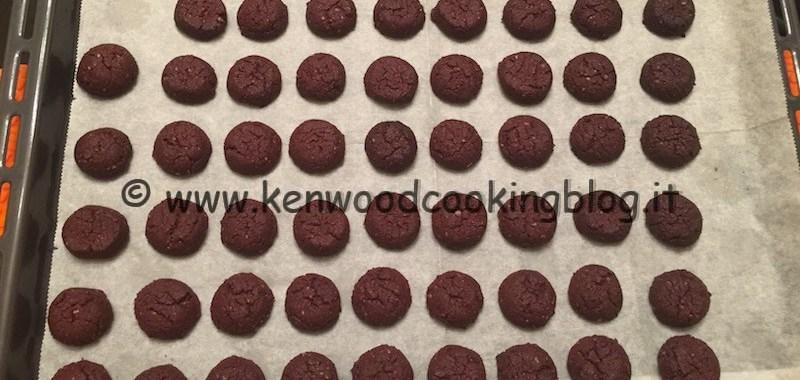 Ricetta biscotti alle castagne e cioccolato Kenwood