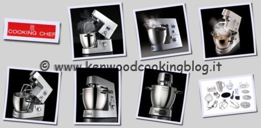 Tabella di confronto modelli Kenwood Cooking Chef