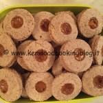 Ricetta biscotti occhio di bue al farro integrale e albicocche Kenwood