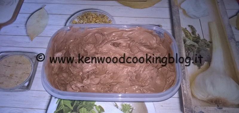Ricetta gelato simil gianduia senza lattosio Kenwood