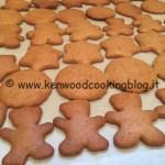 Ricetta biscotti di Pan di zenzero Kenwood