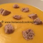 Ricetta vellutata di zucca Kenwood