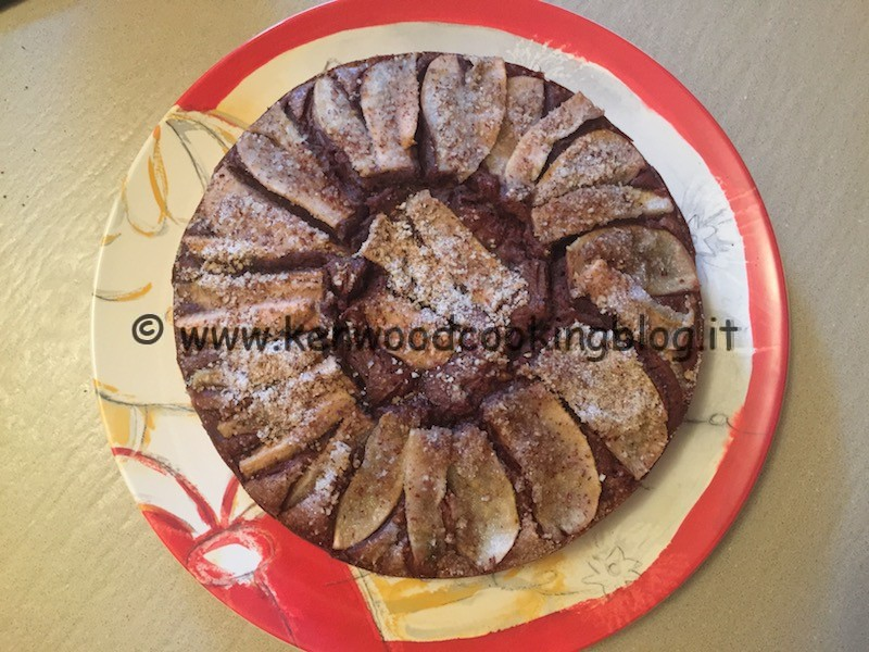 Ricetta Torta Di Pere Cioccolato E Nocciole Di Benedetta Parodi