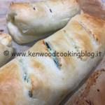 Ricetta cannoli di sfoglia e verdure Kenwood