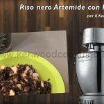 Ricetta Riso nero Artemide con lardo e mele Kenwood