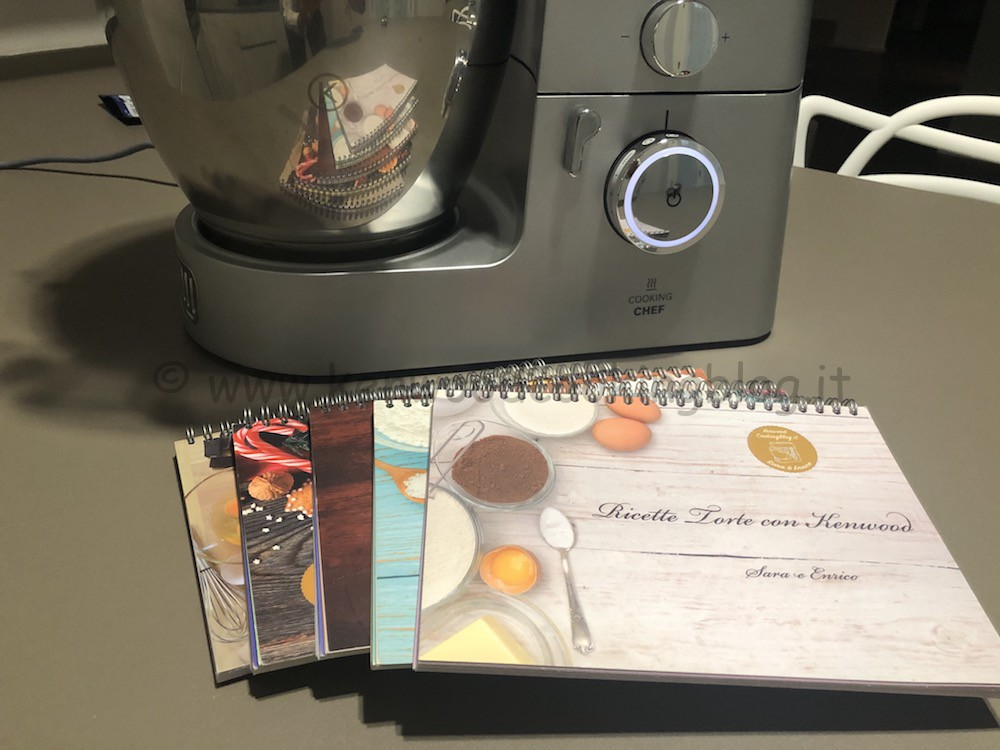 Pack 5 Libri di Ricette per Kenwood Cooking Chef - NE PAGHI SOLO 4 !!!