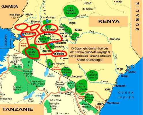 Circuit safari jambo au delà des pistes Kenya