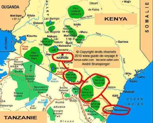 Safari Kenya pas cher 3 j safari 4 j plage