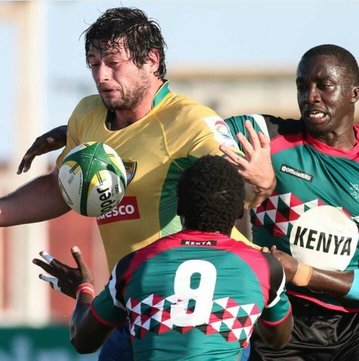 Action from the Brazil-Kenya fixture/Photo/Brasil Rugby