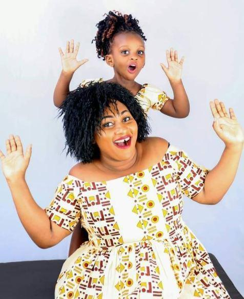 Mariam Kagenda, 35, and her 4-year-old daughter Amanda Mutheu. The two who drowned after their car fell off the ferry in Likoni have been found.