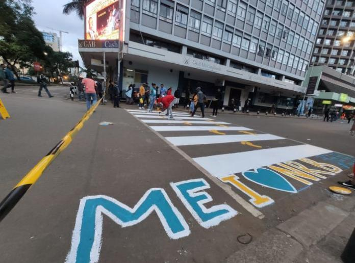 A group of over 30 artists teamed up to decorate Nairobi CBD with paintings and murals in December 2019