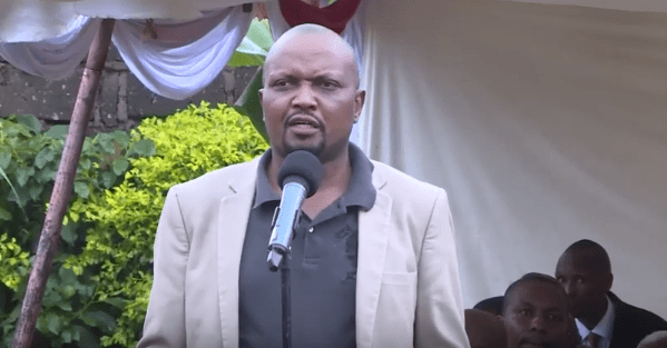 Gatundu South MP Moses Kuria took aim at ODM leader Raila Odinga during a service at Ndagani Catholic Church in Chuka, Tharaka Nithi County, on Saturday, December 7, 2019