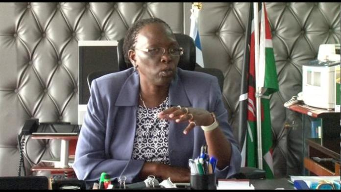 Incoming Industrialisation CS Betty Maina in a past interview